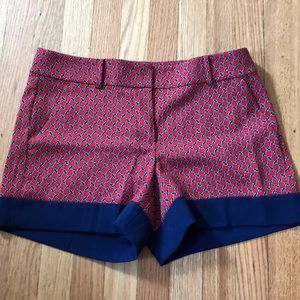 Ann Taylor nautical dress shorts